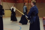 Kendoka Kassel Training 2004